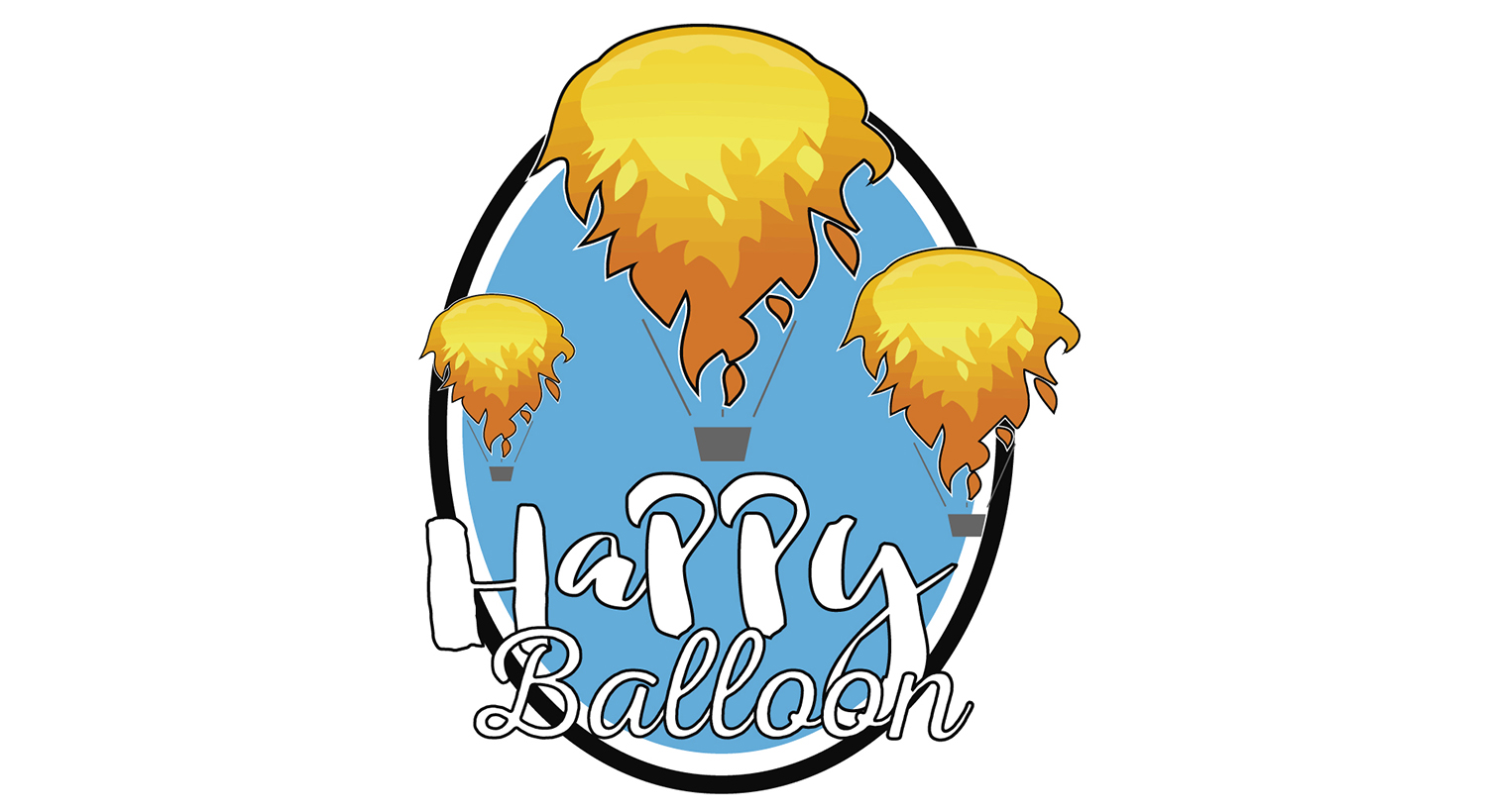 Daily Logo Challenge – Happy Balloon