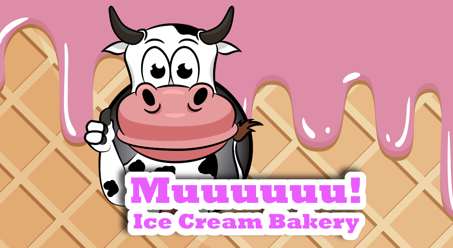 Daily Logo Challenge – Muuuuuu! Ice Cream Bakery