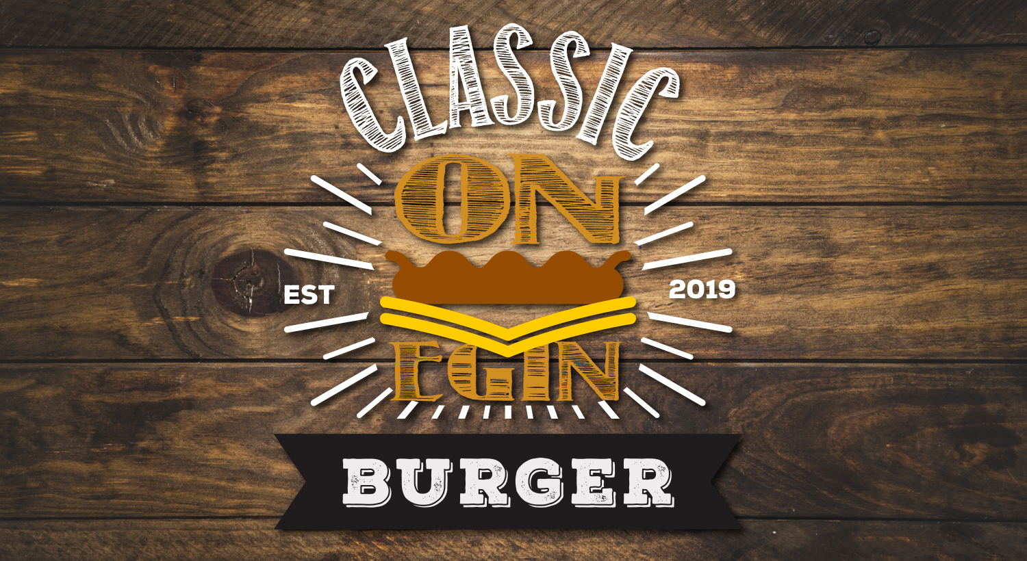 Daily Logo Challenge – On Egin Classic Burger